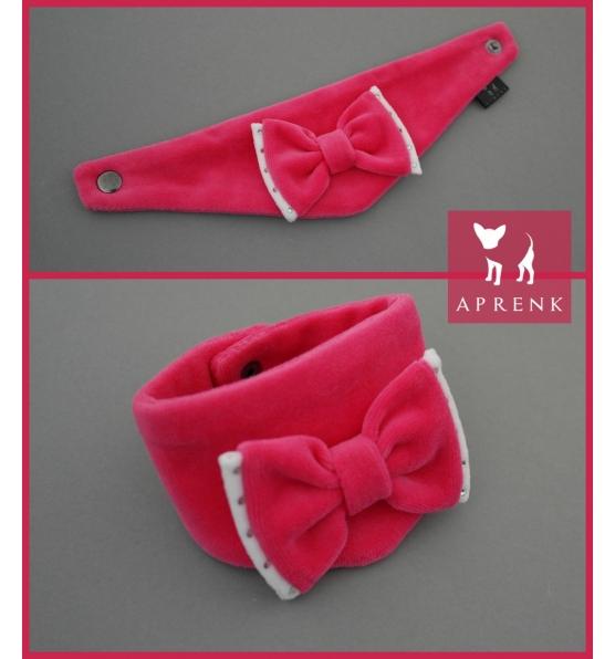 """Veliūro kaklaskarė """"Pink"""""""