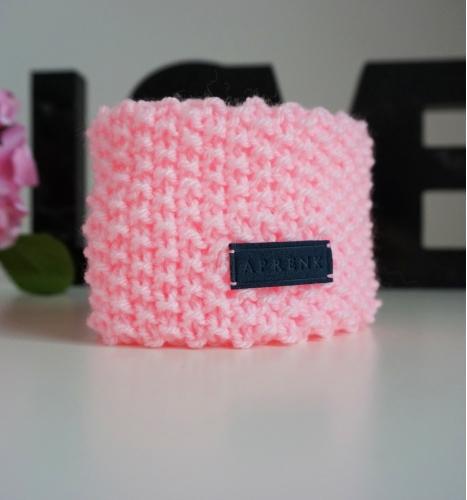Šalikėlis. Šviesiai rožinis