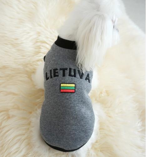 """Džemperis """"Lietuva"""". Pilkas"""